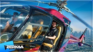 FLYING A HELICOPTER OVER DUBAI!