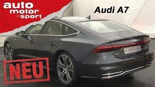 Audi a7 (2017): der schönere a8? - exklusive neuvorstellung / test / review | auto motor und sport