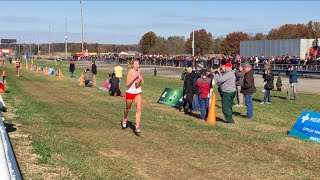 Hawken junior ella gilson came back to win the division ii state cross country meet for second year in a row.