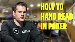 How to HAND RËAD in POKER