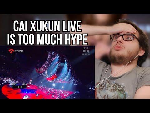 [2020 Jiangsu TV Countdown Concert] Cai Xukun 蔡徐坤 YOUNG+IT'S YOU+重生 Rebirth (Original mix) Reaction