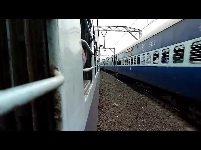 18520 LTT - Visakhapatnam Express running with dangerously speed