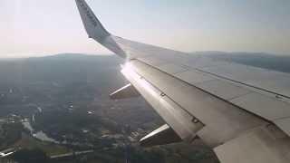 [HD]   RYANAIR   Boeing 737-8AS   Landing Girona Airport   Costa Brava   LEGE   10/07/2012