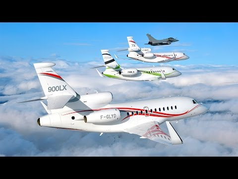Dassault Falcon Jet Celebrates 50 Years of Passion for Excellence