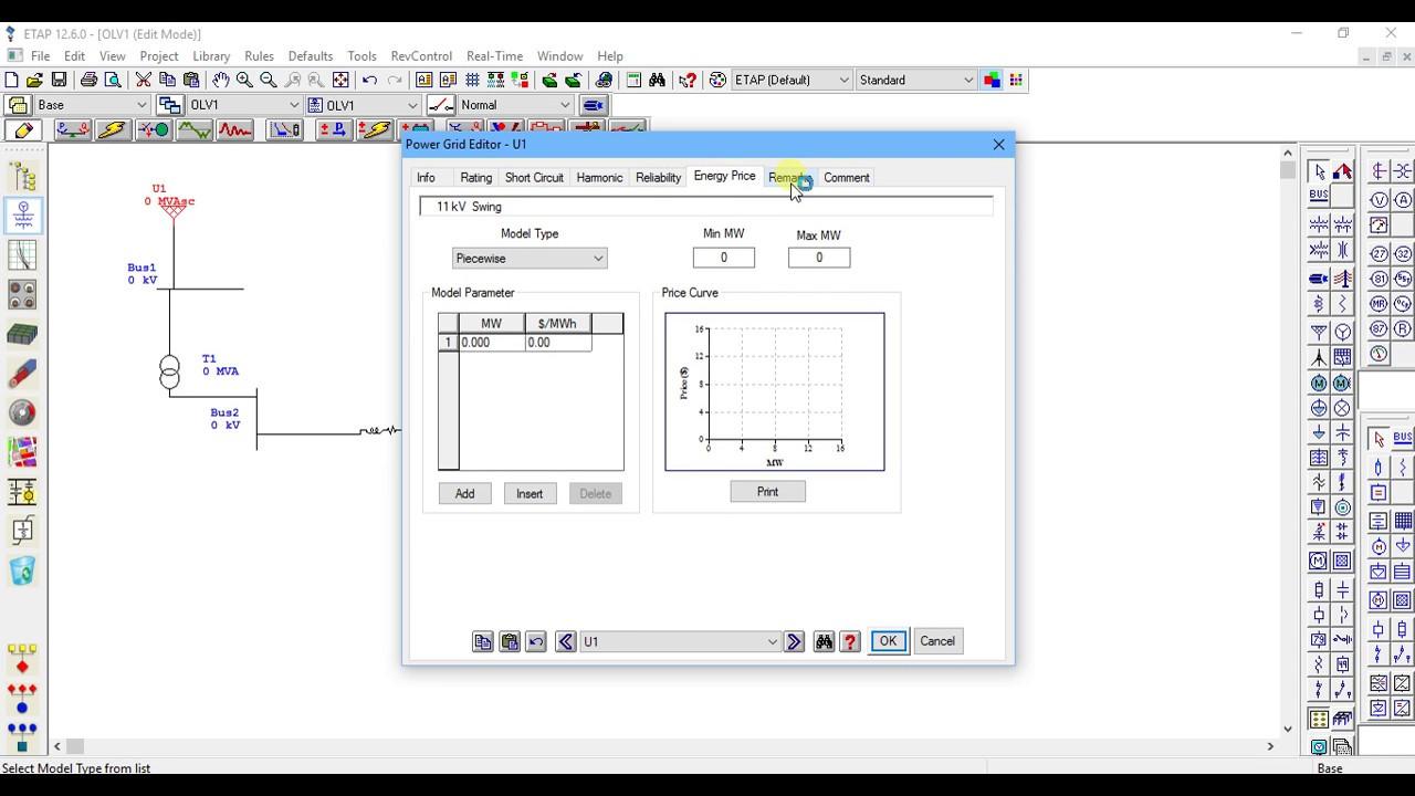 single line diagramme in Etap part 2?