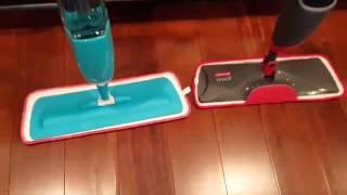 Deik Spray Mop Floor Cleaner Starter works great on my bamboo floors