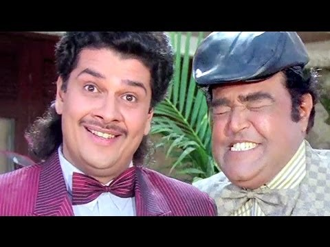 Best Comedy Scenes of Robert and Bhalla - Andaz Apna Apna Jukebox
