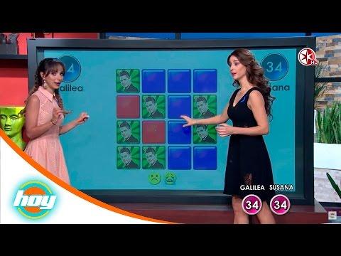 Susana González vs Galilea Montijo  Super memoria  Hoy