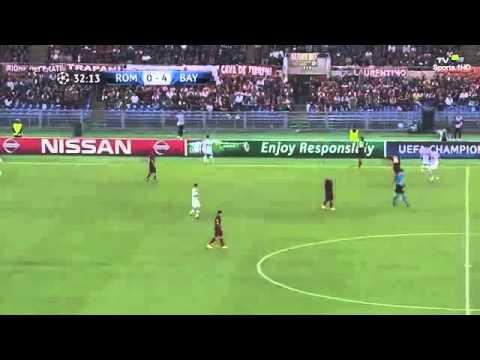 Roma - FC Bayern Munich (21/10/2014) Champions League FULL MATCH