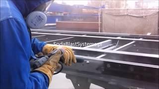Oczyszczanie podwozia z farby i rdzy - SodaBlast Systems
