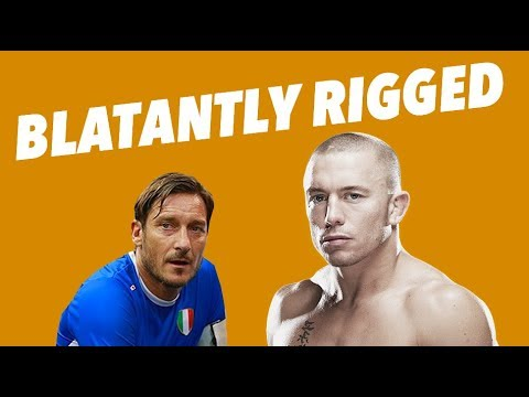 FIVE BLATANTLY RIGGED MOMENTS IN SPORTS - PART 3