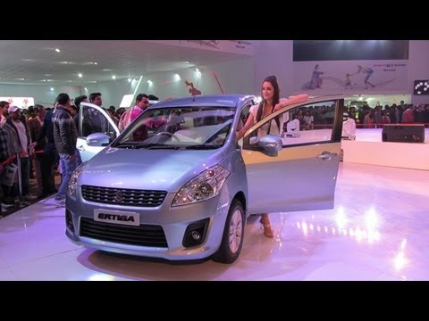 Maruti Ertiga First Look, interior & Exterior Review in India