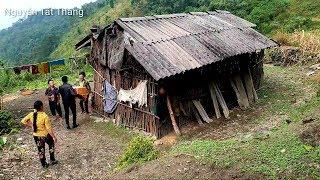 Thăm hộ nghèo có hoàn cảnh éo le trên đỉnh Đán Dầu. Nguyễn Tất thắng