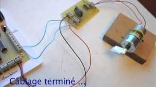 Utilisation du moteur à courant continu (cc)