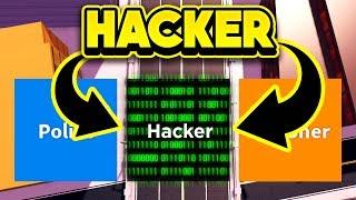 PLAYING JAILBREAK AS A HACKER! (ROBLOX Jailbreak)