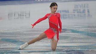 Аделия Петросян - ПП - Первенство 2021   Adelia Petrosian - FP - Junior Nationals 2021