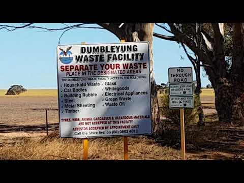Wild Bill Banned for Life - Dumbleyung Rubbish Tip - No More Trash n Treasure Roadtrips!