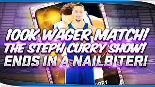 100,000 MT Wager Nail-Biter! + 2k Mini Games!? | NBA 2k15 MyTeam