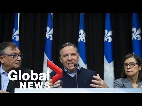 Coronavirus outbreak: Quebec officials update on COVID-19 response | FULL