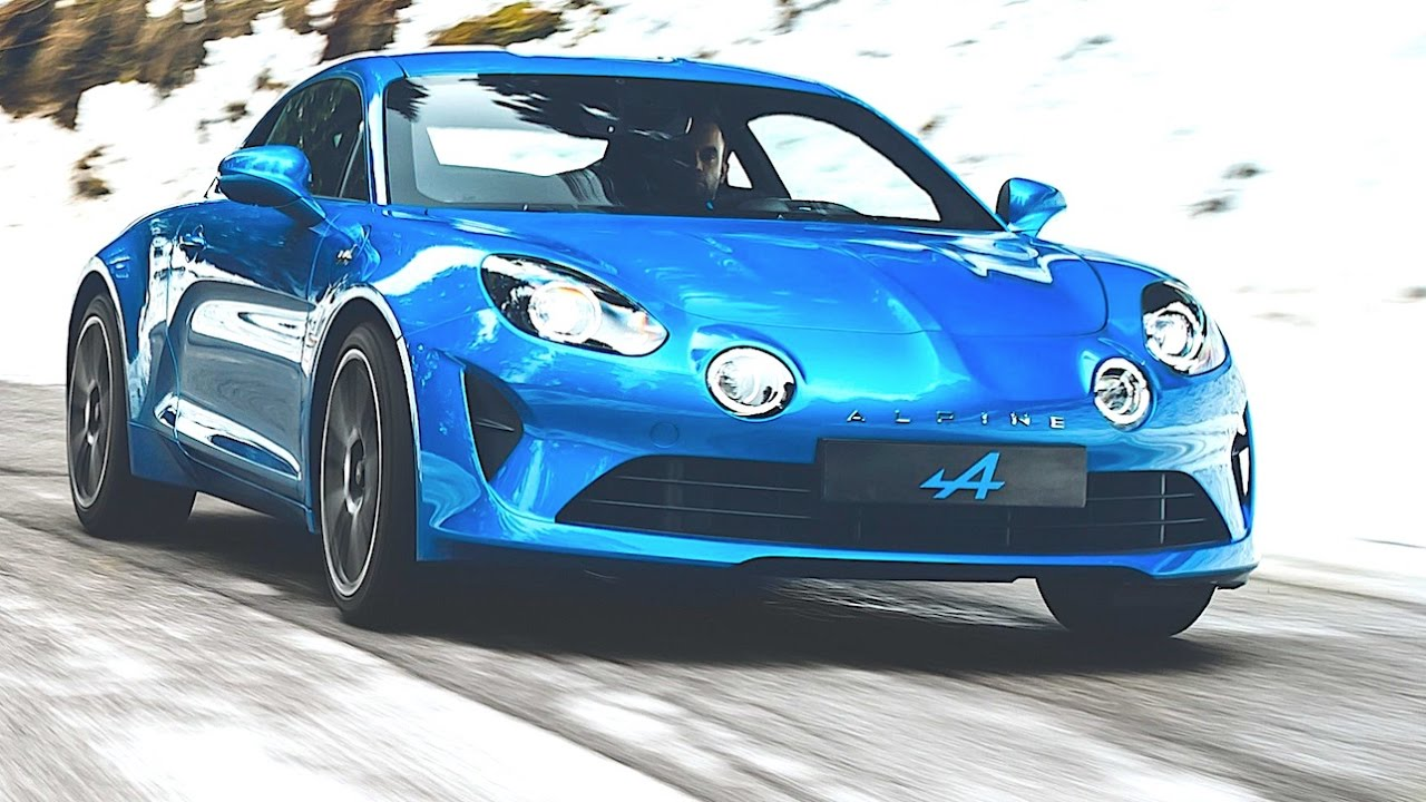 alpine a110 fast driving col de turini 2017 renault alpine a110 video driving geneva motor show. Black Bedroom Furniture Sets. Home Design Ideas