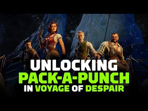 Call Of Duty: Black Ops 4 - How to Unlock Pack-a-Punch in Voyage of Despair
