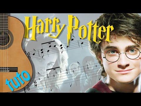 TUTO - HARRY POTTER - Guitar FingerStyle (Score & Tab)