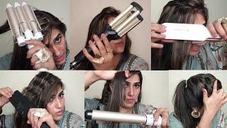 Hair Styles With Hair Tools | Top 5 Amazing Hair Tools | Natasha waqas