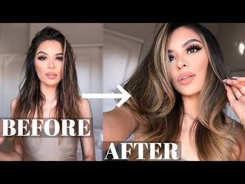 how-to:-perfect-salon-blowout-at-home!-|-diy