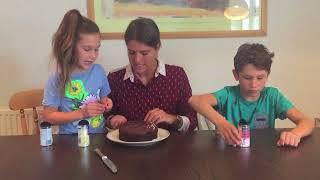 Маша и Ваня из Лондона. Урок 0: Украшение торта.