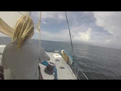 #6, Tyler's Life - Overnight sail Bequia to Martinique