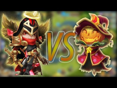 MICHEAL VS PUMPKIN DUKE!! NEW VS OLD - CASTLE CLASH