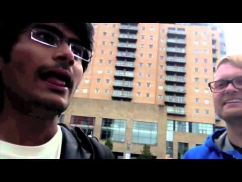 City and Campus tours at UoM Orientation 2012