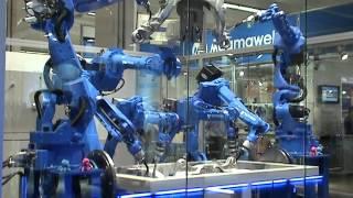YASKAWA - 7 robots / 45 axis system