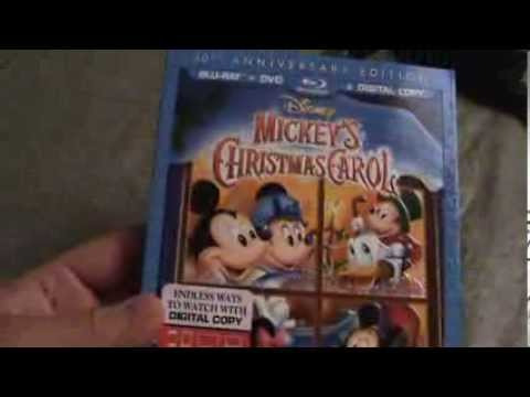 mickeys christmas carol 30th anniversary blu ray unboxing - Mickeys Christmas Carol Blu Ray