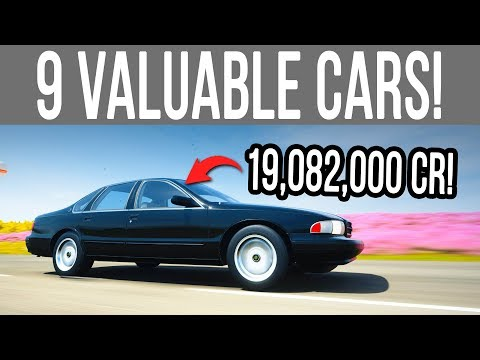 Forza Horizon 4 - 9 Most *Valuable* Cars That SELL For Millions of Credits!