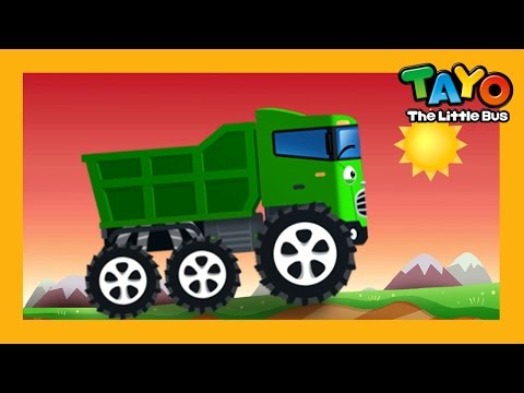 Max the Strong Truck l Repair Game #4 l Learn Street Vehicles l Tayo the Little Bus