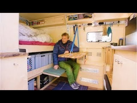 ARCHITECT and CARPENTER create a SUPER Innovative Van Conversion