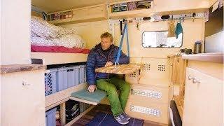 ARCHITECT and CARPENTER create a SUPER Innovative Van Conversion