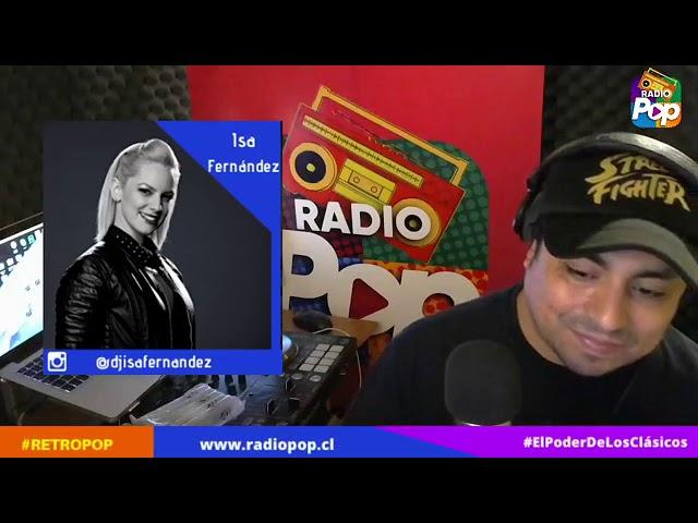 RetroPop con Ismael Pereira Calderón 17 De Abril 2020