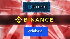 Coinbase, Binance, & Bittrex - Which Crypto Exchange To Use in 2019