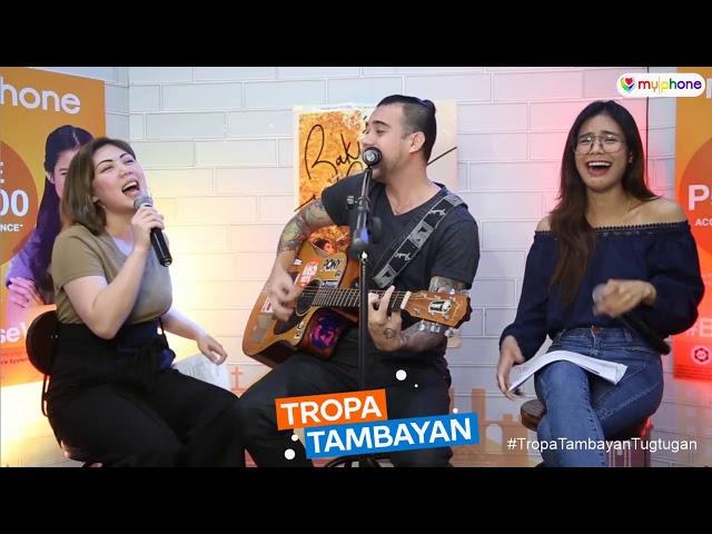 Tropa Tambayan EP05 - ex PBB Kyra Custodio todo bigay sa duet with Rivermaya's Jason Fernandez