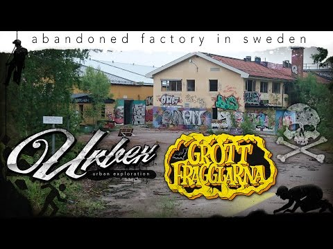 URBEX - abandoned factory in Sweden. Urban Exploration 2016