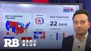 CBS News poll: Biden leads Trump in Michigan and Nevada, race tied in Iowa
