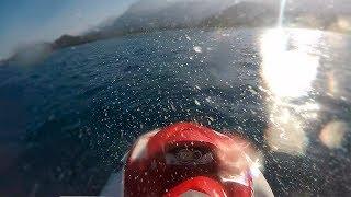 Набрал максимальную скорость на водном мотоцикле 999км/ч! max speed!