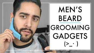 Testing Beard Grooming Tools / Gadgets  For Men - How To Trim & Shape A Beard  ✖ James Welsh