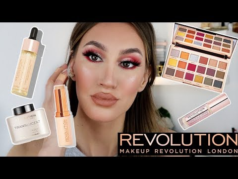 MAKEUP REVOLUTION ONE BRAND MAKEUP TUTORIAL | NEW PRODUCTS | Sonia Th