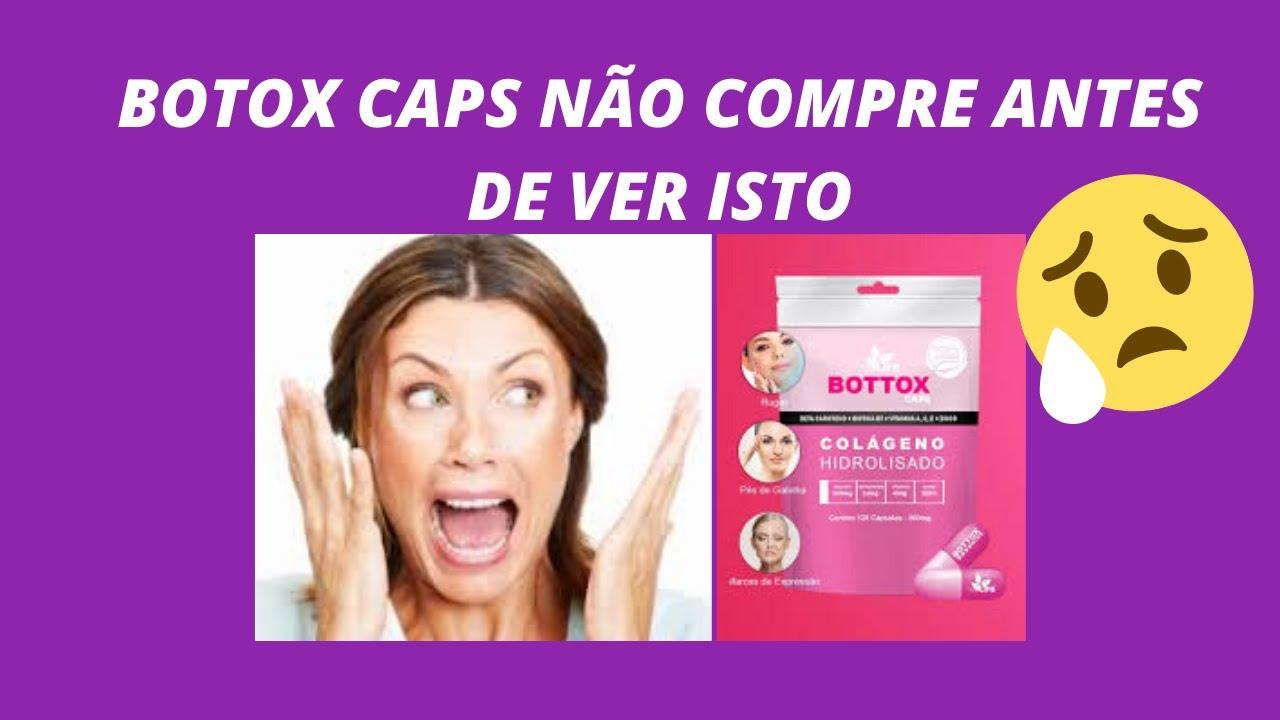 bottox caps composição