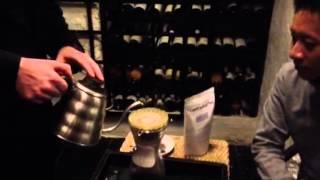 Coffee brewing at Kiin Kiin