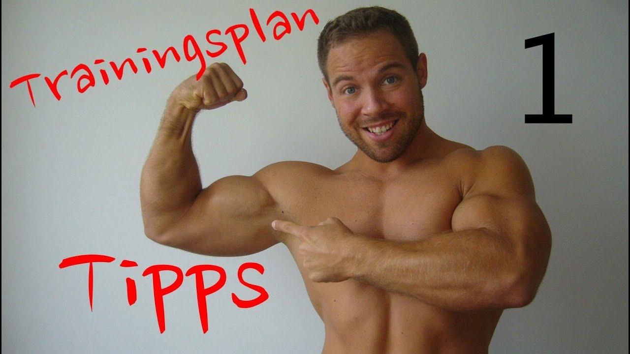 Tipps zum Trainingsplan - Teil 1 (Alle Muskelgruppen trainieren ...