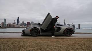 Modified Lamborghini Aventador LP-700-4 | Downtown Chicago | SAVAGE Edition
